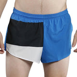MEN'S 1 INCH INSEAM ELITE SPLIT RUNNING SHORTS- ESTONIA