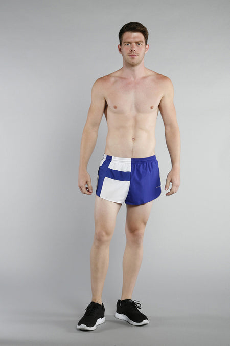 MEN'S 1 INCH INSEAM ELITE SPLIT RUNNING SHORTS- GERMANY
