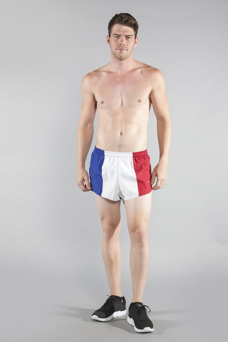 MEN'S 1 INCH INSEAM ELITE SPLIT RUNNING SHORTS- NEW ZEALAND