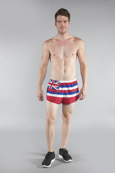 MEN'S 1 INCH INSEAM ELITE SPLIT RUNNING SHORTS- WASHINGTON DC