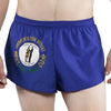 MEN'S 1 INCH INSEAM ELITE SPLIT RUNNING SHORTS- KENTUCKY