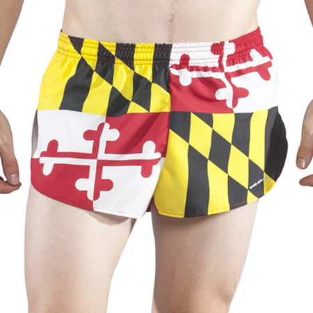 "Men's Connecticut 1"" Elite Split Shorts"