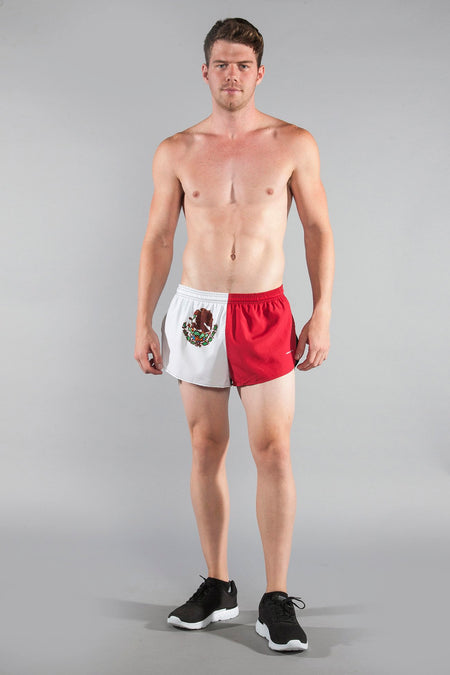 "MEN'S 1"" ELITE SPLIT SHORT- BULGARIA"
