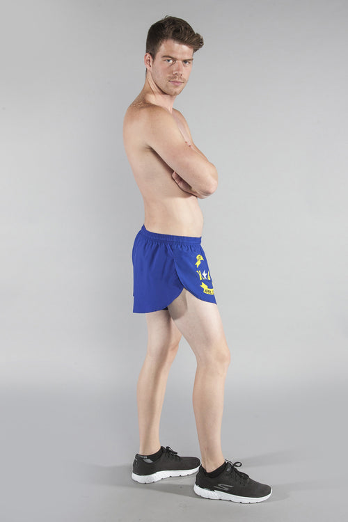 "MEN'S 1"" ELITE SPLIT SHORT- NORTH CAROLINA - BOAUSA"