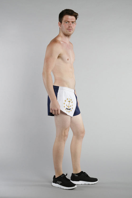 "MEN'S 1"" ELITE SPLIT SHORT- RHODE ISLAND - BOAUSA"