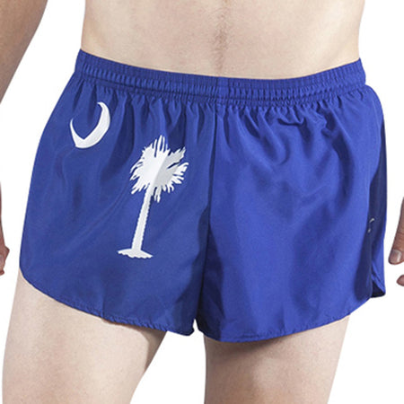 "Men's Nebraska 1"" Elite Split Shorts"
