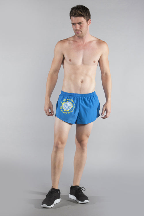 "MEN'S 1"" ELITE SPLIT SHORT- SOUTH DAKOTA - BOAUSA"