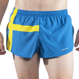 MEN'S 1 INCH INSEAM ELITE SPLIT RUNNING SHORTS- SWEDEN