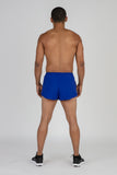MEN'S 1 INCH INSEAM ELITE SPLIT RUNNING SHORTS- VIRGINIA
