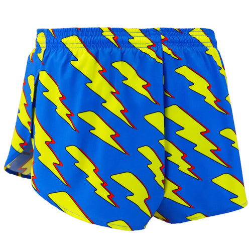 "Men's Lightning Bolt 1"" Elite Split Shorts"