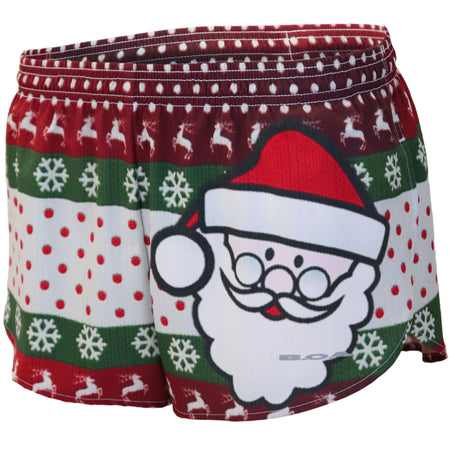 "Women's Ugly Sweater 1"" Elite Split Shorts"