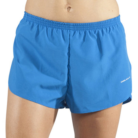 "Women's Navy 1"" Elite Split Shorts"