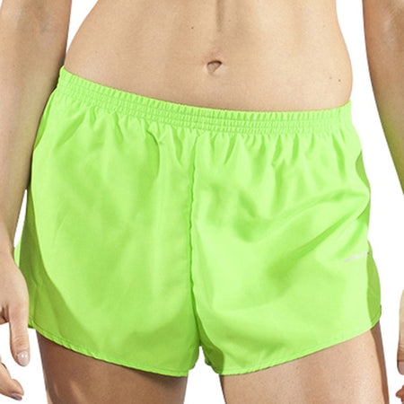 "Women's Yellow Chili Pepper 1"" Elite Split Shorts"