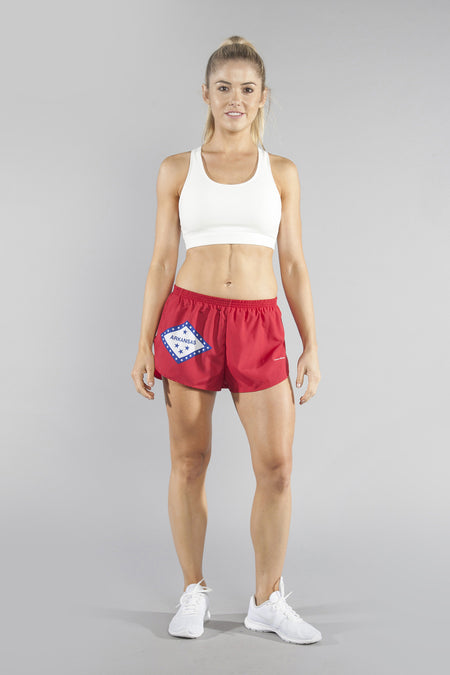 "WOMEN'S 1.5"" SPLIT TRAINER SHORT- MARYLAND"