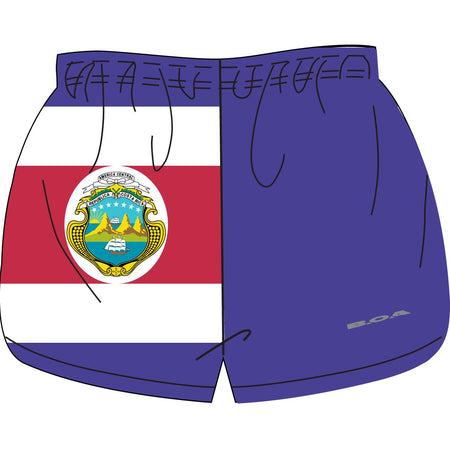 "WOMEN'S 1"" ELITE SPLIT SHORT- UNITED NATIONS"