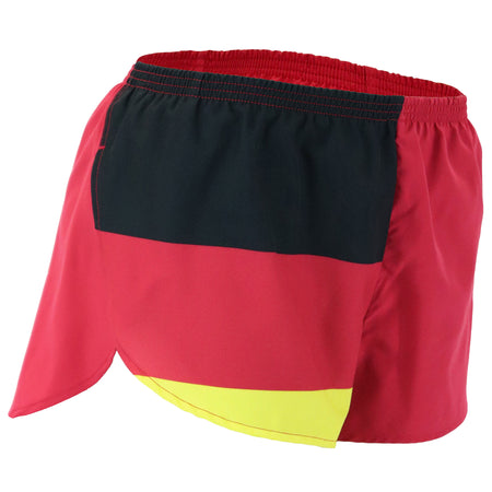 "WOMEN'S 1.5"" SPLIT TRAINER SHORT- GREAT BRITAIN"