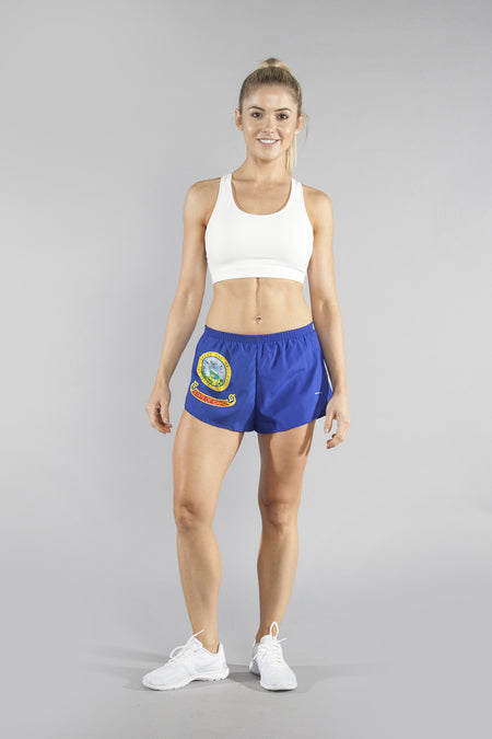 "WOMEN'S 1"" ELITE SPLIT SHORT- CALIFORNIA"