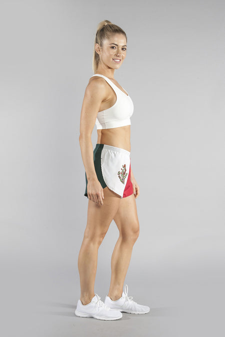 "WOMEN'S 1"" ELITE SPLIT SHORT- SOVIET UNION"