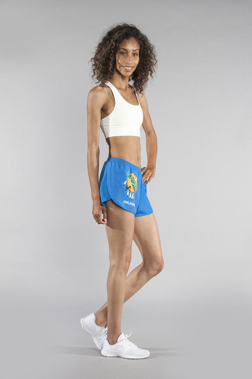 "WOMEN'S 1"" ELITE SPLIT SHORT- OKLAHOMA - BOAUSA"