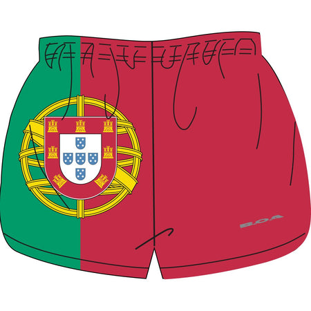 "WOMEN'S 1"" ELITE SPLIT SHORT- COSTA RICA"