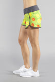 WOMEN'S STAMINA STRETCH RUN SHORT- VITAMIN C - BOAUSA