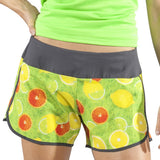 WOMEN'S STAMINA STRETCH RUN SHORT- VITAMIN C
