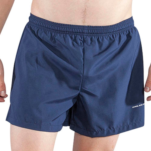 "Men's Navy 3.75"" V-Notch Shorts"