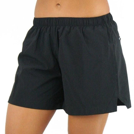 "WOMENS 1.5"" INSEAM ULTRA RUNNING SHORTS- RED"