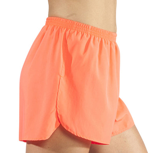"Women's Neon Sunkiss 1.5"" Half Split Trainer Shorts"