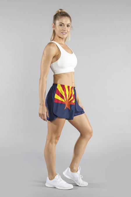"WOMEN'S 1"" ELITE SPLIT SHORT- FLORIDA"