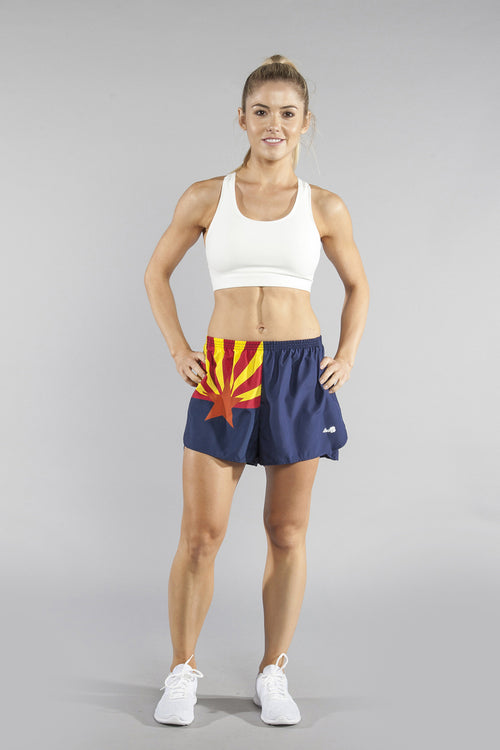 "WOMEN'S 1.5"" SPLIT TRAINER SHORT- ARIZONA - BOAUSA"