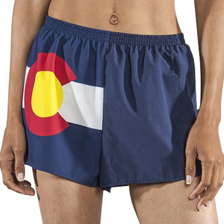 "Women's Texas Flag 1"" Elite Split Shorts"