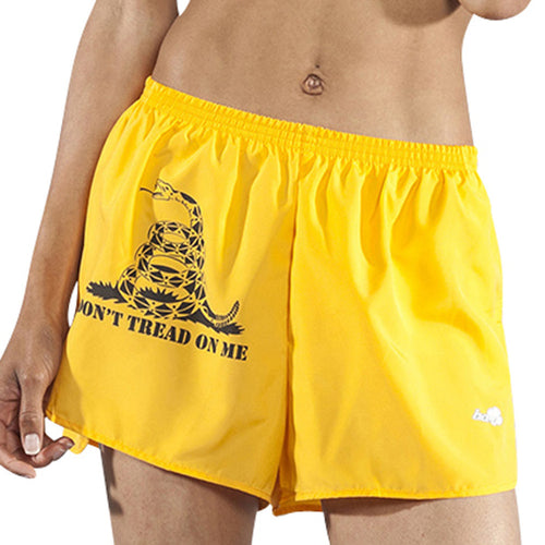 "Women's Don't Tread On Me 1.5"" Half Split Shorts"