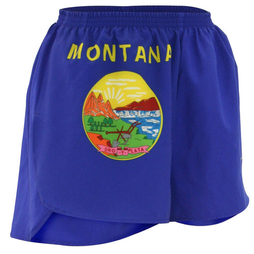 "WOMEN'S 1.5"" SPLIT TRAINER SHORT- MONTANA"