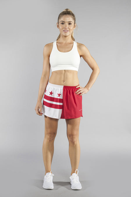 "WOMEN'S 1.5"" SPLIT TRAINER SHORT- COLORADO"