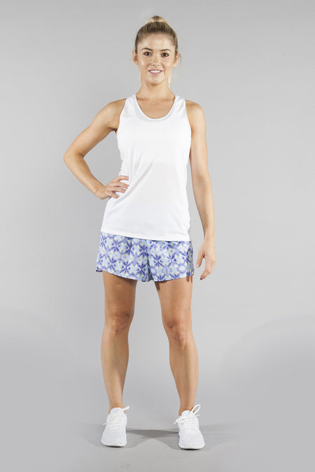 "WOMENS 1.5"" STRETCH PRINTED SPLIT TRAINER- EUPHORIA"