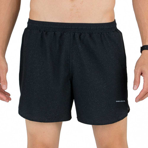 "Men's Cypher Black 5"" Striker Split Shorts"