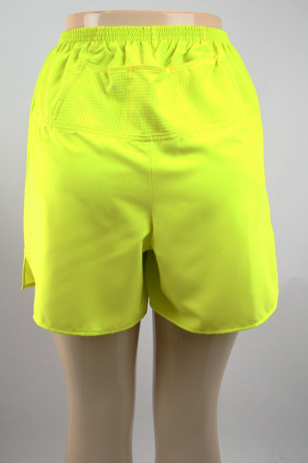 "WOMENS 1.5"" INSEAM ULTRA RUNNING SHORTS- SAFFRON"