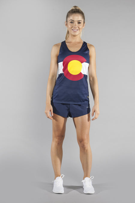 WOMEN'S INTERVAL SINGLET- OKLAHOMA
