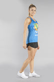 WOMEN'S INTERVAL SINGLET- OKLAHOMA - BOAUSA