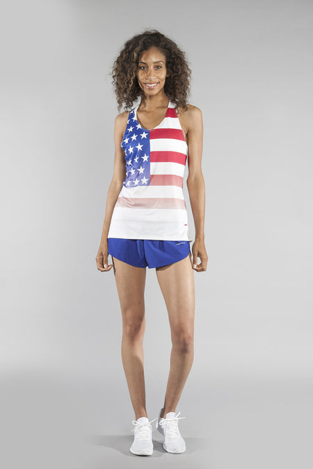 WOMEN'S INTERVAL SINGLET- USA 2020