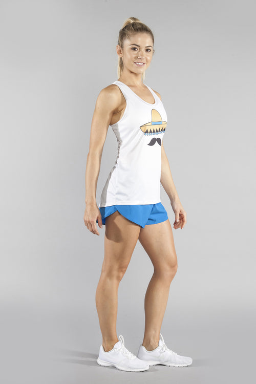 WOMEN'S INTERVAL SINGLET- 'STACHE - BOAUSA