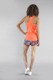 WOMEN'S INTERVAL SINGLET- NEON SUNKISS - BOAUSA