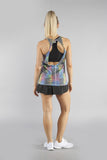 WOMEN'S PRINTED 50/50 TWISTY BACK- PINA COLADA - BOAUSA