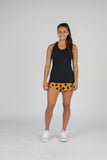 WOMEN'S ACTIVE EASE RUNNING SINGLET- BLACK