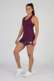Women's Eggplant Active Ease Running Singlet