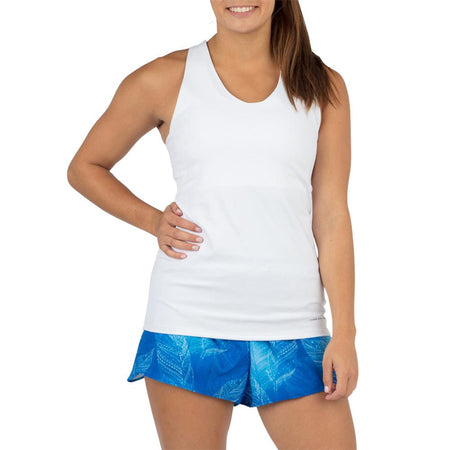 Women's White Versatex Sunseeker Singlet
