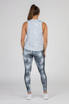 WOMEN'S HYPERSOFT CROP RUNNING TANK TOP- CURRENT SILVER