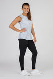 Women's Current silver Hypersoft Crop Tee