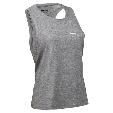 Women's Black/White Vortex Fitted Tank